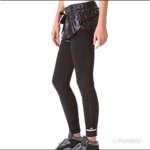 HTF Adidas Stella McCartney LEGGINGS W/SHORT Sz Lg